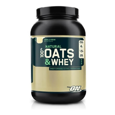 ON (Optimum Nutrition) Natural 100% Oats & Whey,  3 lb  Vanilla Bean