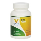 Vitamin Shoppe Zinc (50 mg),  100 capsules