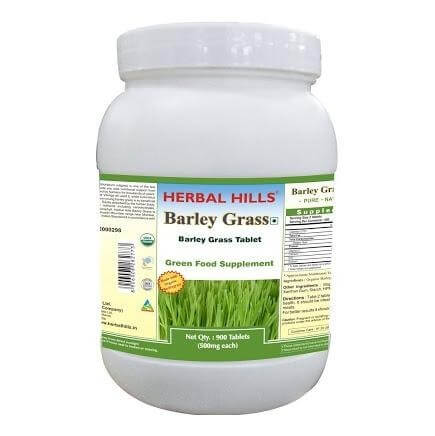 Herbal Hills Barleygrass,  900 tablet(s)