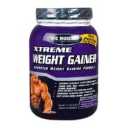 Big Muscle Xtreme Weight Gainer,  Chocolate  2.2 lb
