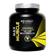 Six Pack Nutrition Max Muscle,  4.4 lb  Jumbo Banana