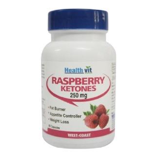 Healthvit Pure Raspberry Ketones (250mg),  60 capsules