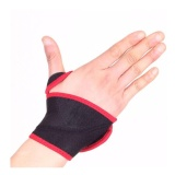 B Fit USA Wrist Support,  Black  19*9*3 Cms