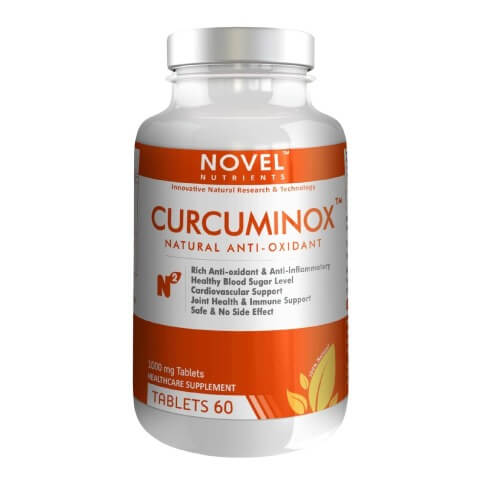 Novel Nutrients Curcuminox (1000mg),  60 tablet(s)