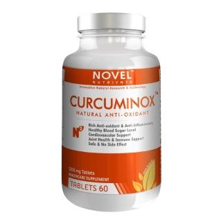 Novel Nutrients Curcuminox (1000mg),  60 tablet(s)