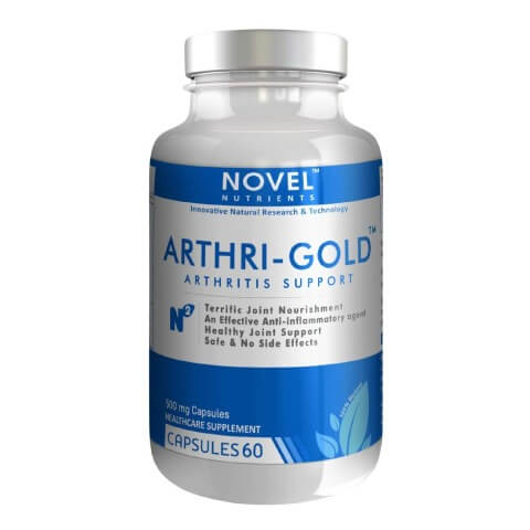 Novel Nutrients Arthri Gold (500 mg),  60 capsules