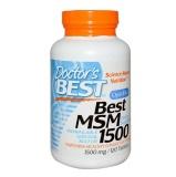 Doctor's Best MSM (1500mg),  120 Tablet(s)