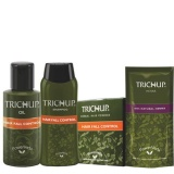 Trichup Hair Fall Control Kit,  Oil,Powder & Shampoo  400 Ml