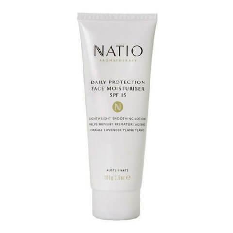 Natio Daily Protection Face Moisturiser,  100 g  SPF 15