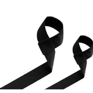 Harbinger Big Grip No Slip Lifting Straps,  Black  Free Size