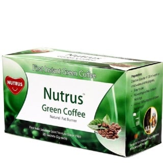 Nutrus Green Coffee (Pack of 3),  20 sachets/pack