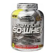 MuscleTech Platinum 100% Iso Whey,  3.34 lb  Strawberry Shortcake