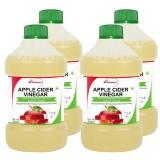 St.Botanica Apple Cider Vinegar,  500 Ml  Unflavoured (Pack Of 4)