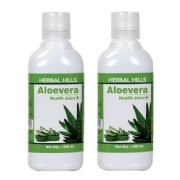 Herbal Hills Aloevera Health Juice (Combo),  Natural  500 ml