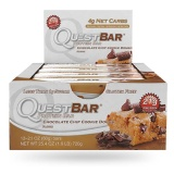 Quest Protein Bar,  12 Piece(s)/Pack  Chocolate Chip Cookie Dough