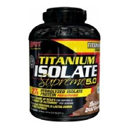SAN Titanium Isolate Supreme,  5 lb  Delicious Milk Chocolate