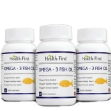 Health First Omega 3 Fish Oil (Pack Of 3),  60 Capsules