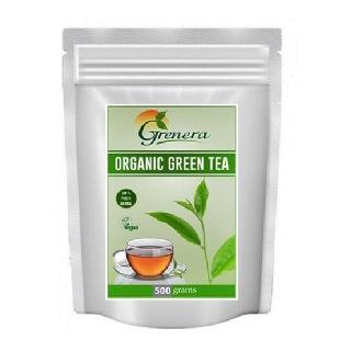 Grenera Organic Green Tea,  500 g  Natural
