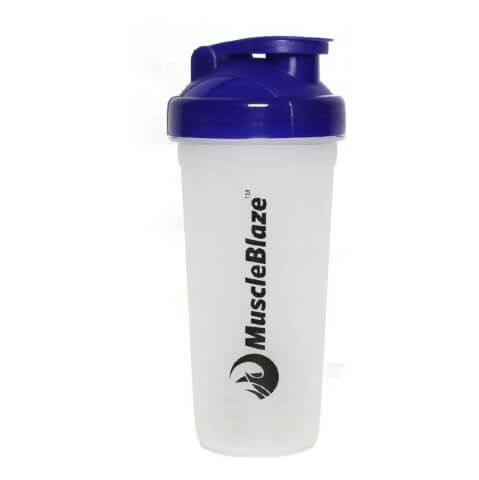 MuscleBlaze Shaker,  Blue  650 ml