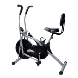 KS Healthcare Air Bike Stamina with Back Support