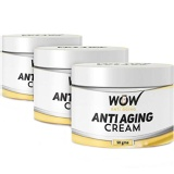 WOW Anti Aging Cream (Pack Of 3),  50 G  Anti Ageing