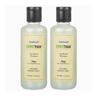 Healthbuddy Zerotox Handmade Neem Shampoo (Pack Of 2),  210 ml  Anti Dandruff