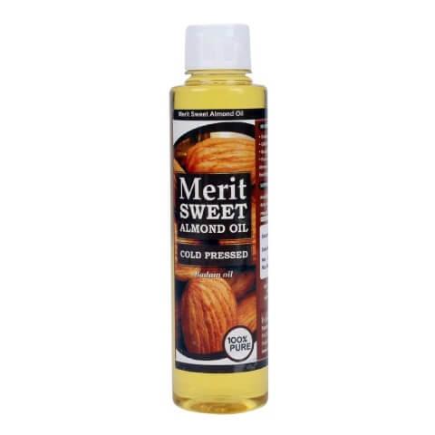 Merit Sweet Almond Oil,  250 ml  Skin & Hair Treatment