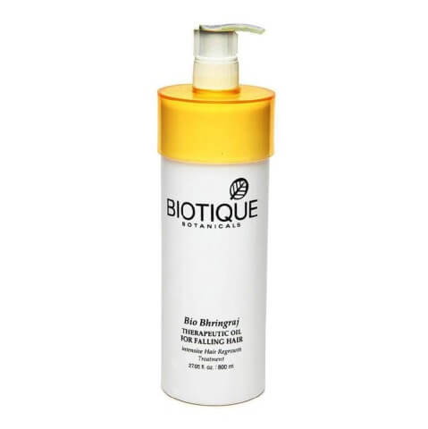 Biotique Bio Bhringraj Therapeutic Oil,  for Falling Hair  800 ml