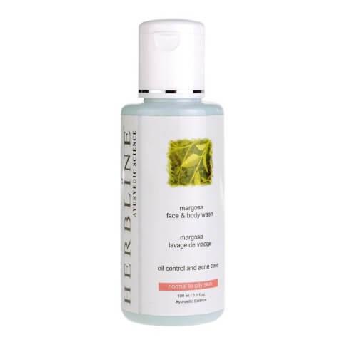 Herbline Margosa Face & Body Wash,  100 ml  Normal to Oily Skin