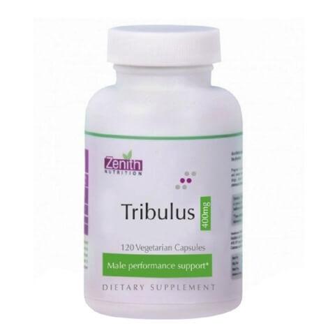 Zenith Nutrition Tribulus (400 mg),  120 veggie capsule(s)