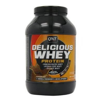 QNT Delicious Whey Protein,  2.2 lb  Chocolate