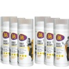 Protein Drink Combo Pack, (3 Caramel Coffee + 3 Chocolate Orange) - Pack of 6