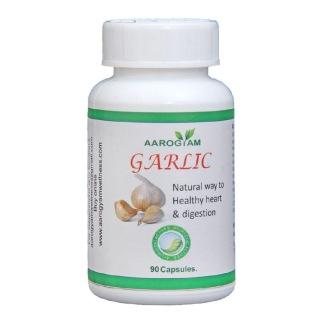 Aarogyam Garlic Capsules,  90 capsules