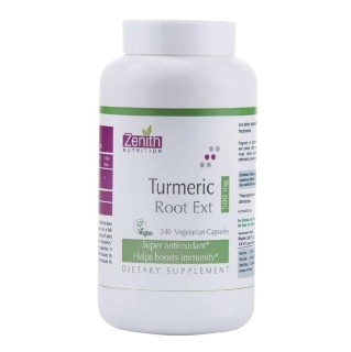 Zenith Nutrition Turmeric Root Ext,  240 capsules