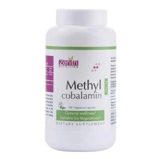Zenith Nutrition Methylcobalamin,  Unflavoured  200 veggie capsule(s)