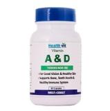 Healthvit Vitamin A & D (10000/400 IU),  Unflavoured  60 Capsules