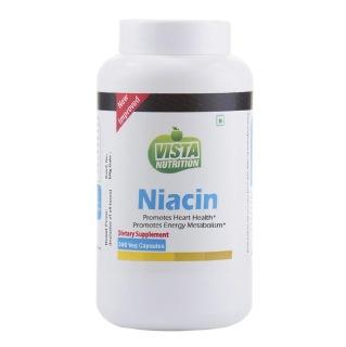Vista Nutrition Niacin,  Unflavoured  300 veggie capsule(s)