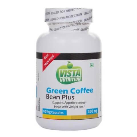 Vista Nutrition Green Coffee Bean Plus (400 mg),  60 veggie capsule(s)