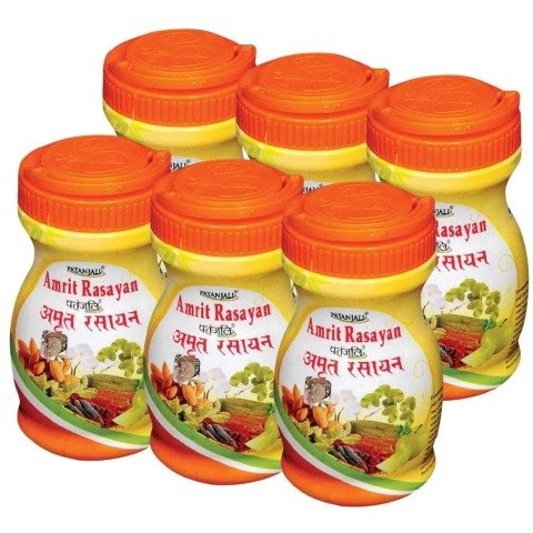 Patanjali Amrit Rasayan - Pack of 6, 0.5 kg