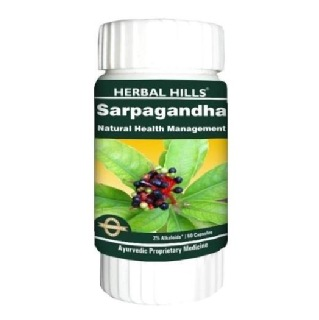 Herbal Hills Sarpagandha,  60 capsules