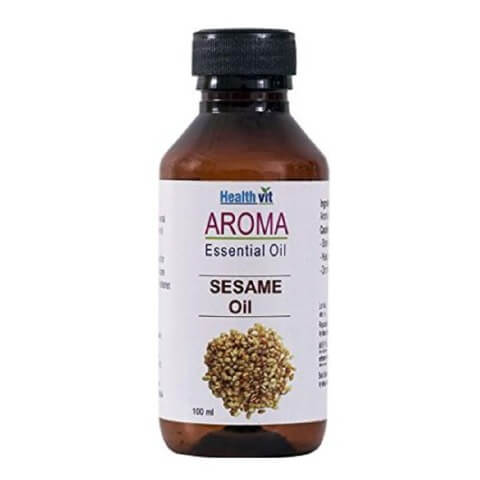 Healthvit Aroma Sesame Oil,  100 ml  for All Skin Types