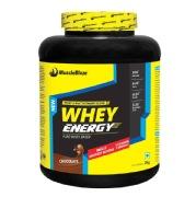 MuscleBlaze Whey Energy,  4.4 lb  Chocolate