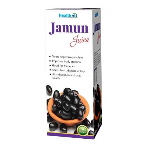 Healthvit Jamun Juice,  Natural  0.500 L