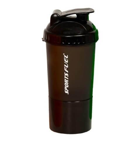 Sports Fuel Protein Super Shaker,  Black  500 ml