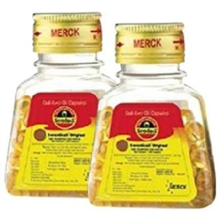 Seven Seas Cod Liver Oil - Pack of 2, 100 capsules