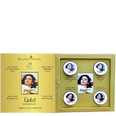Shahnaz Husain 24 Carat Gold Kit,  40 g  All Skin Type