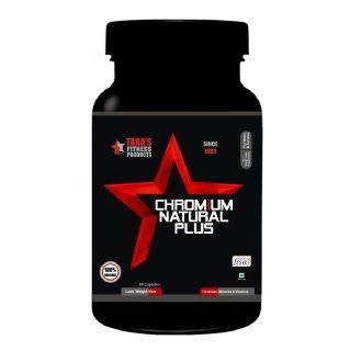 Tara Fitness Products Chromium Natural Plus,  60 capsules