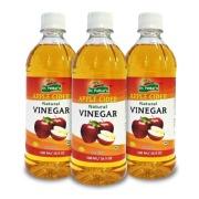 Dr. Patkar's Natural Apple Cider Vinegar (refined) Pack of 3,  0.5 L  Unflavoured