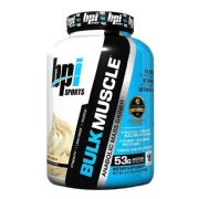 BPI Sports Bulk Muscle,  Whipped Vanilla  5.8 lb