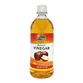 Dr. Patkar's Natural Apple Cider Vinegar (refined) Pack of 8, 4 L Unflavoured